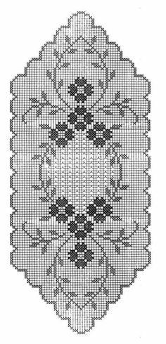 Crochet Table Runner Pattern, Free Crochet Doily Patterns, Crochet Bikini Pattern, Filet Crochet Charts, Crochet Doilies, Crochet Carpet, Crochet Home, Thread Crochet, Crochet Stitches