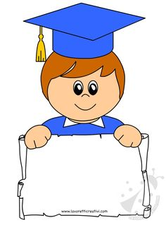 Bambino con tocco e diploma di Fine Anno Scolastico Graduation Images, Graduation Crafts, Preschool Graduation, Baby Boy Balloons, School Board Decoration, Nurse Cartoon, Clown Crafts, Certificate Design Template, Welcome Banner
