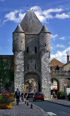 Samois door, Moret-sur-Loing, France. Plan your trip here: http://www.ixigo.com/travel-guide/paris