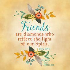 Every Day Spirit Magnet / Friends / Fridge by EveryDaySpirit