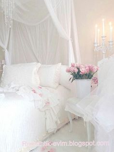 Beautifully Updated Shabby Chic Bedroom!