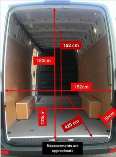mercedes sprinter mwb high roof dimensions - Google Search