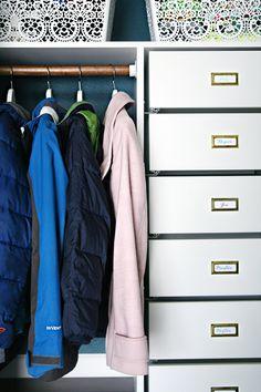 A Coat Closet Makeover... Again...