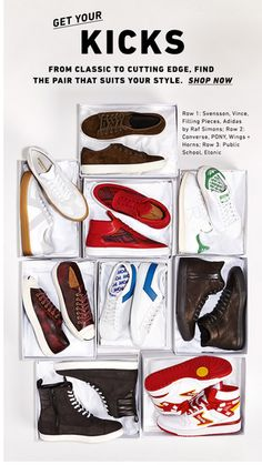 east dane; shoe boxes for sneakers