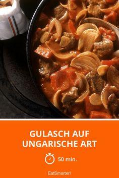 Gulasch auf ungarische Art