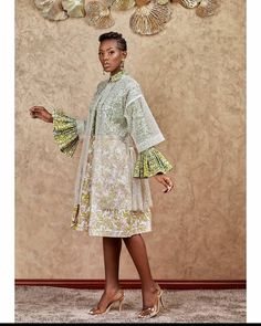 Ankara Wedding Styles, Ankara Gown Styles, Ankara Gowns, African Fashion Ankara, Latest African Fashion Dresses, African Print Fashion, African Prints, Kente Dress, Ankara Skirt And Blouse