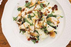 Arugula, Pecorino, Pine Nut, and Pear Salad (Rucola con Pecorino, Pignoli, e Pere) | 29 Italian Dishes Everyone Should Know