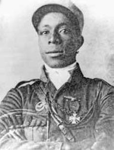 Eugene Jacques Bullard (October 9, 1894 or 1895 - October 12, 1961), better known as the Black Swallow of Death, was the first African-American military pilot. He was in the 1st Regiment of the French Foreign Legion and French Air Service. Bullard was one of two black combat pilots in WWI, the other was Ahmet Ali Çelikten (Ottoman Empire/Turkey). #blackhistorymonth