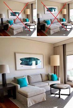 Interior Design Living Room Warm, Interior Design Guide, Living Room Modern, Home Living Room, Living Room Designs, Living Room Decor, Decor Room, Small Living Rooms, Kitchen Interior