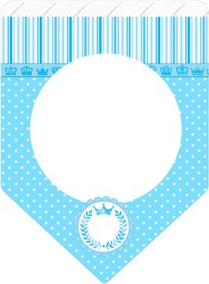 Moldes Para Baby Shower, Bunting Flags, Birthday Crafts, Blue Art, Baby Prints, Baby Shower Parties, Party, Birthdays, Happy Birthday