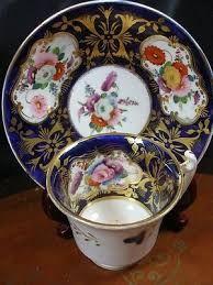 Davenport cup & saucer