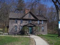 Orchard House, home of the Alcott family--where Little Women was written! In Concord, Mass.