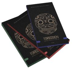 Forbidden Chocolate Packaging by Hannah Ison, via Behance