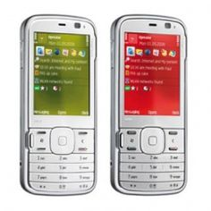 NOKIA N79  GSM+WCDMA  小型・軽量、3色の交換カバー付き。日本でも使えるので、海外から来た人にローミング用に貸したり、自分が海外行ったときに使ったりと、現在も活躍中。Symbian-60系の普及安定機ですな。