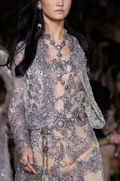 Elie Saab Couture, Spring 2016 - The Prettiest Runway Details of Spring 2016 - Photos