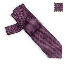 Build'H Hermes silk twill tie, hand-folded, 3.15'' wide