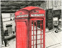 """Check out new work on my @Behance portfolio: """"London Illustrations"""" http://be.net/gallery/47191693/London-Illustrations"""