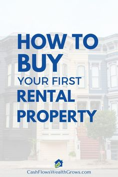 How To Buy Your First Rental Property  ~ Great pin! For Oahu architectural design visit http://ownerbuiltdesign.com