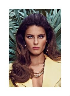 Golden necklace_ISABELI FONTANA IS A GOLDEN GIRL FOR VOGUE LATIN AMERICA'S MARCH COVER SHOOT BY KORAY BIRAND