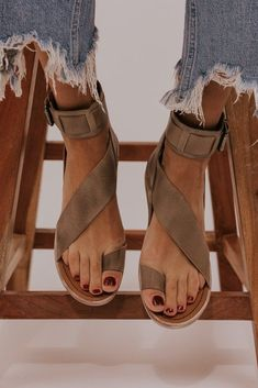 Item Type Strap Sandals Heel Height lt 1 inch Closure Type Slip On Outsole Mate Spring Shoes, Summer Shoes, Summer Sandals, Beach Sandals, Trendy Sandals, Boho Sandals, Sandals Outfit, Shoes Sandals, Diy Accessories