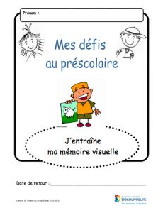 mémoire visuelle School Organisation, Petite Section, Montessori, Math, Learning, James Games, Learn French, Corona, Kindergarten Coloring Pages