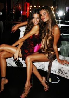 Izabel Goulart & Alessandra Ambrosio