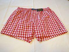 Polo Ralph Lauren underwear men's classic fit boxer shorts logo M red white…