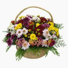 Cesta Flor do Campo Cesta Mágica Delicadas, charmosas e alegres...  Cesta com flores do campo em cores variadas, sempre alegres...