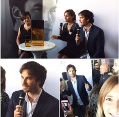 Ian Somerhalder at Promotional event for INTENSE by #AZZAROPOURHOMME in Santiago, Chile (05/06/15)