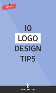10 Logo Design Tips for Bloggers & Creative Entrepreneurs
