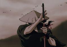 Ninja Scrolls aka The Wind Ninja Chronicles Manga Anime, Anime Gifs, Old Anime, Manga Art, Imagenes Wallpapers Hd, Samurai Anime, Afro Samurai, Character Art, Character Design