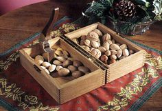 Nutcracker and box Woodworking Plan from WOOD Magazine Easy Woodworking Projects, Woodworking Plans, Wood Magazine, Woodworking Equipment, Wooden Gifts, Wood Boxes, How To Plan, Nut Cracker, Outdoor Decorations