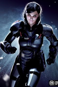 OMG this art is SO SIMILAR to my Shepard.