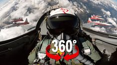 Hop in the cockpit of a Swiss Air Force F-5 jet flying over the Swiss Alps with team Patrouille Suisse. Do a barrel roll, delta loop and even shoot some flares.