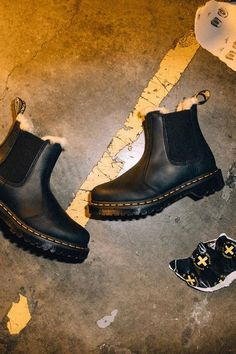 Amen. SO excited that #DrMartens has a new collection of winterized #footwear. These #boots and #shoes are designed for slippery sidewalks and snowy streets.