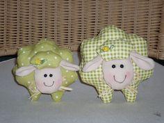Tilda - Ostern - Schafe (grün/weiß)(1)