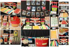 Back to School Party Ideas | Photo 3 of 33 | Catch My Party. School-themed foods.