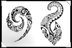 polynesian designs and patterns | Polynesian Style Tattoo D Design