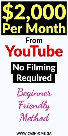 How to make Money on youtube without Recording videos - SEO Blog - Read the latest SEO trend and statistics #SEO #SEOBlog #blog - Make Money on youtube Without Showing Face