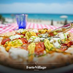 It's lunch time here! Hungry? :) #sardinia #pizza #yummy