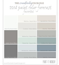 New House - Paint Palette
