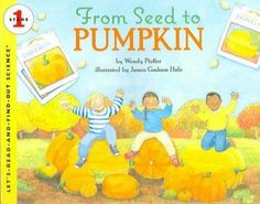 Pumpkins can be baked in a pie, carved into jack-o'-lanterns, and roasted for a healthy snack. But how does a tiny seed turn into a big pumpkin? With clear text and detailed, colorful illustrations, t