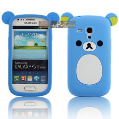 Cute Bear Soft Rubber Back Cover Case Skin for Samsung Galaxy S3 Mini I8190 5 + 2$