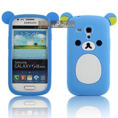 Cute Bear Soft Rubber Back Cover Case Skin for Samsung Galaxy S3 Mini I8190 5 + 2$