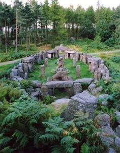 Druids Temple. Masham. England
