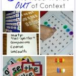 a fish out of water: games to practice sight words