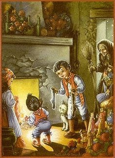 La Befana Whose Name Comes From The Roman Dialects Pronunciation Of Italian Epifania