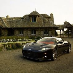 Ever since i saw this a while back on top gear i have been in love! its The One and only Dutch Spyker C8!