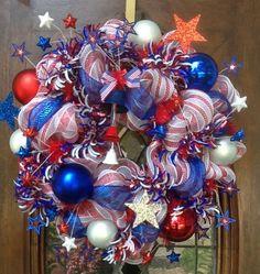 patriotic wreaths | Patriotic wreath | Wreaths & Doors