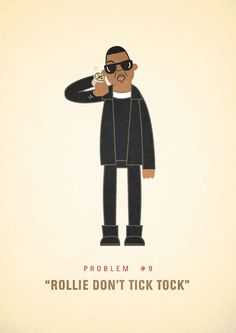 "An Illustrated Take On Jay-Z's ""99 Problems"""